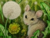 Mouse and Dandelion